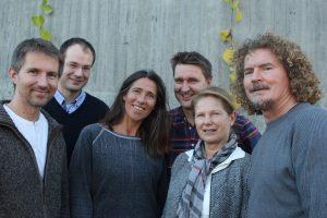 Prosjektgruppa for e@HiT. Fra venstre: Jonny Bergkvist, Svend Andreas Horgen, Hjørdis Hjukse, Frode Evenstad, Tove Bøe og Bjarne Nærum.