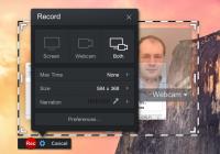 Oppsett av skjermopptak med Screencast-O-Matic