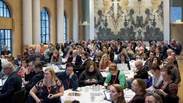 De blogger fra konferansen: Toril Aagaard (USN), Marte Nubdal (NTNU) og Tord Tjeldnes (UiA)